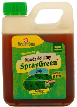 Nawóz SprayGreen do Thui - ZAPAS 950ml Zielony Dom