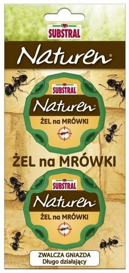 Substral Naturen na Mrówki Żel 2x10g Substral